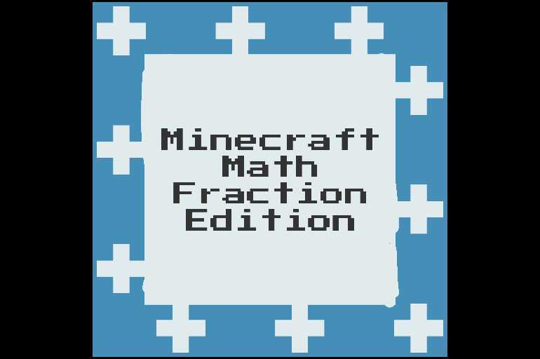 Minecraft Math- Fraction Edition 2