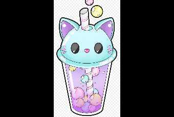 Draw a Kawaii Kitty Cup of Bubble Tea