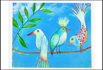 Birds of a Feather – Painting