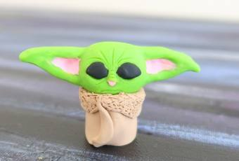 60min Baby Yoda Clay Sculpting