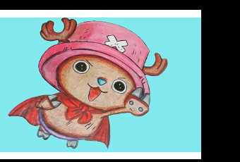 60min Anime Art Lesson - Tony Tony Chopper