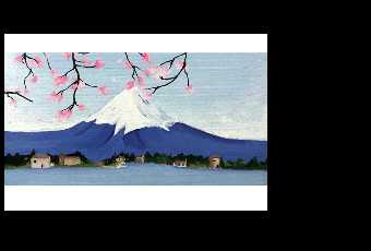 60min Paint Japan's Mount Fuji Landscape Scenery