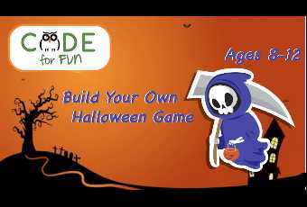 Trick or Treat!  Design Your Own Halloween Game in Scratch - 1 Hour Virtual Class