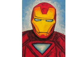 60min How to Draw Superheroes: Iron Man