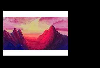 60min Paint Mountains At Dawn Landscape Scenery