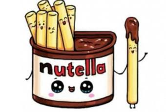 60 min Art Lesson: Cute Nutella Snack