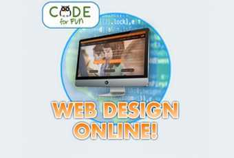 Web Design Class - 4 Classes - Level 1 Ages 10-15