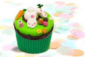 60min Easter Animal Treats Clay Sculpting - Bunny Cupcake