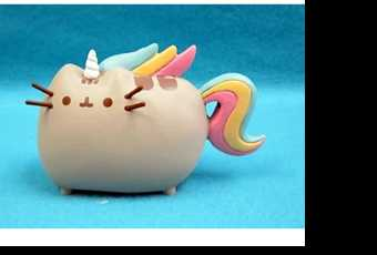 60min Sculpt Rainbow Unicorn Pusheen Clay Lesson