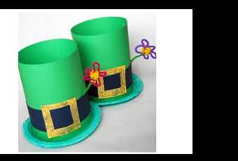 60min Make a St. Patrick's Day Hat