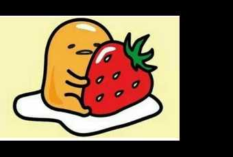 30min Draw A Cute Character Art Lesson - Gudetama Strawberry