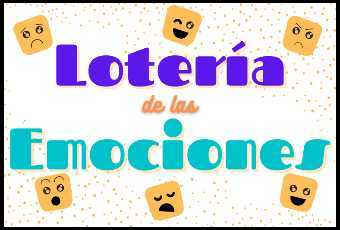 Loteria de las Emociones (Feelings Bingo in Spanish)