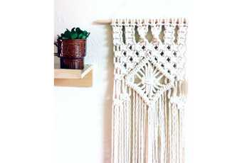 Off the Wall Macrame Textile