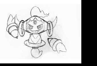 60min Hoopa Pencil Sketching Pokemon Lesson