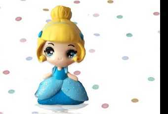 60min Disney Princess Cinderella Clay Sculpting Lesson