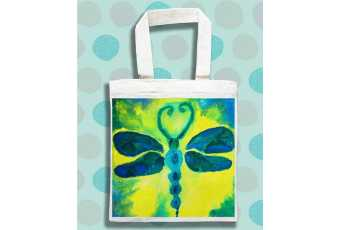 Dragonfly Wings Tees & Totes – Batik