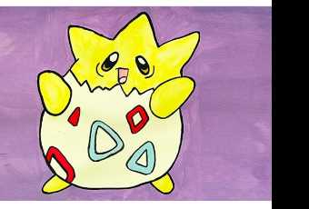 30min Draw Egg Type Pokemon - Togepi
