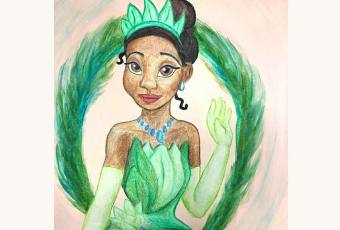 60min How to Draw Princesses - Tiana