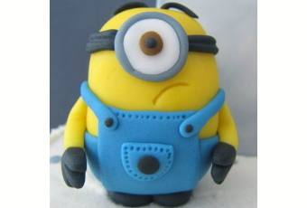 60min Cartooning Art Lesson: Minion Clay Project