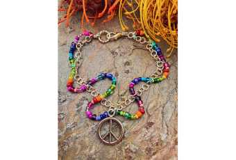 Peace, Love & Rainbows Jewelry Monday