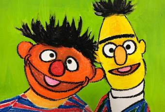 60min How to Cartoon Art Lesson: Muppet's - Ernie