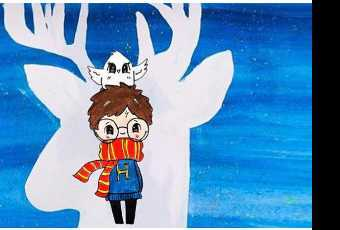 60min Harry Potter Patronus Drawing Lesson