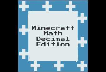 Minecraft Math- Decimal Edition 4