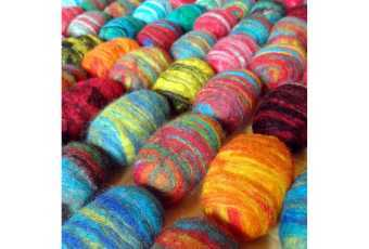 Textile - Felted Soap