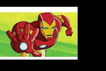 60min Superhero Iron Man Avenger Art Lesson