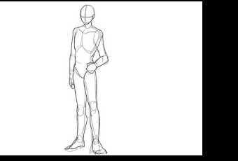 60min Intro to Figure Sketching - Basic Male Figure