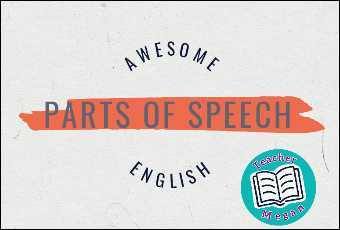 Awesome English: Parts of Speech