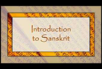 Kids Intro to Sanskrit Language