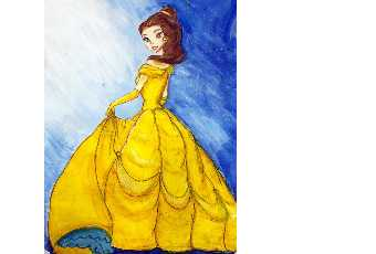 60min Disney Princess Drawing Art Lesson: Belle